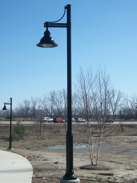Meijer Trail Light Posts
